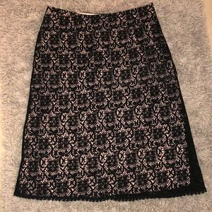 Dresses & Skirts - Lacey Black and Pink Skirt